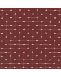 Delvin Fabric, Crimson