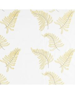 Ferns Fabric, Gold