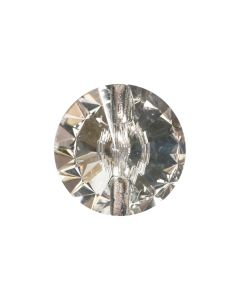 18mm Crystal Button, Clear (36)