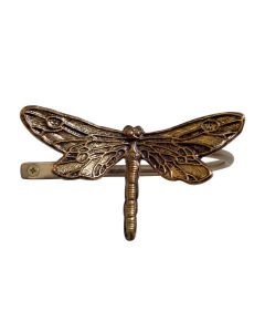 Ecuador, Dragonfly Holdback, Antique Brass