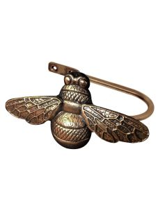 Ecuador, Bumblebee Holdback, Antique Brass