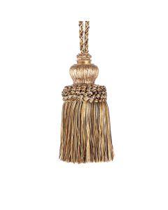Florentine Key Tassel, Bronze