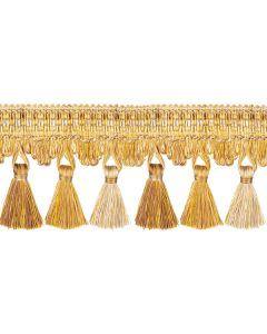 Florentine Tassel Fringe, Gold