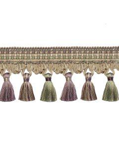 Florentine Tassel Fringe, Lavender
