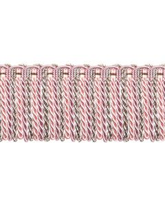 Florentine Bullion Fringe, Chalk Pink
