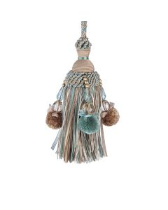 Interlude Key Tassel, Acqua