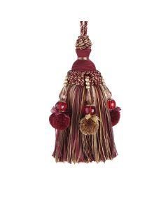 Interlude Key Tassel, Rossa