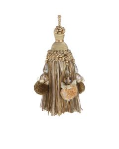 Interlude Key Tassel, Verde