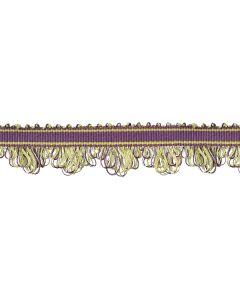 Portobello Fan Edge Braid, Grape