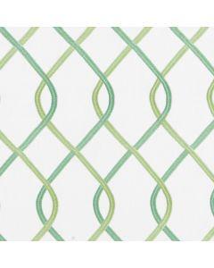Interlace Fabric, Mint