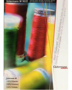 M92/2 Gutermann Colour Card
