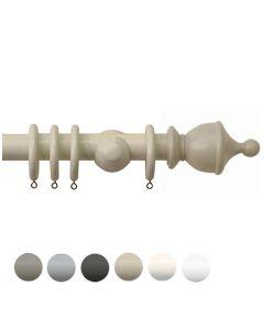 Swish Romantica 35mm Urn Finial Wood Pole Set